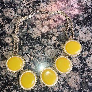 Banana Republic Yellow Necklace